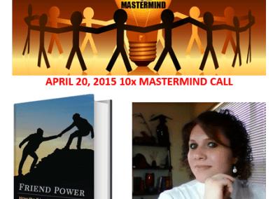 "Interview with Author Stephanie Scheller about her new book ""Friend Power"""