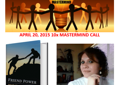 "Interview with Author Stephanie Scheller​ about her new book ""Friend Power"""