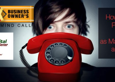 "Episode 61 – ""How to Overcome Phone Phobia And Set as Many Appointments as You Want!"""