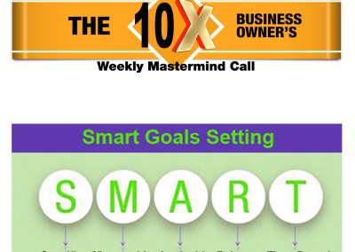 "Episode 75 – ""Real S.M.A.R.T. Goal Setting for Business Owners"""