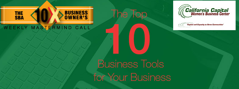 "Episode 60 – ""The Top 10 Business Tools for Your Business"""