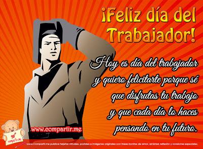 Feliz Dia Del Trabajador en la patria socialista y bolivariana en Venezuela.