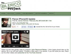iPhone4S Bilerico