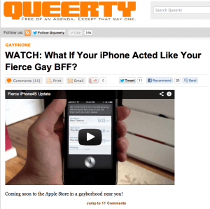 Iphone4S Queerty
