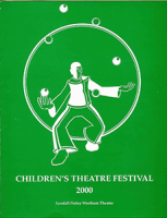 program for Children's Theatre Festival and The Magic Journey