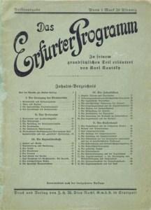 Soc-Bar Erfurter Programm cover
