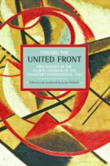 Toward United Front