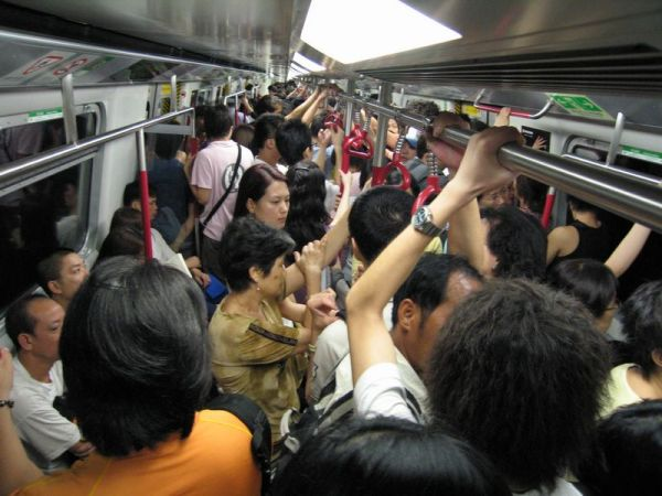 China's Mob VIDEO! World's Most Crowded Subways EVER ...