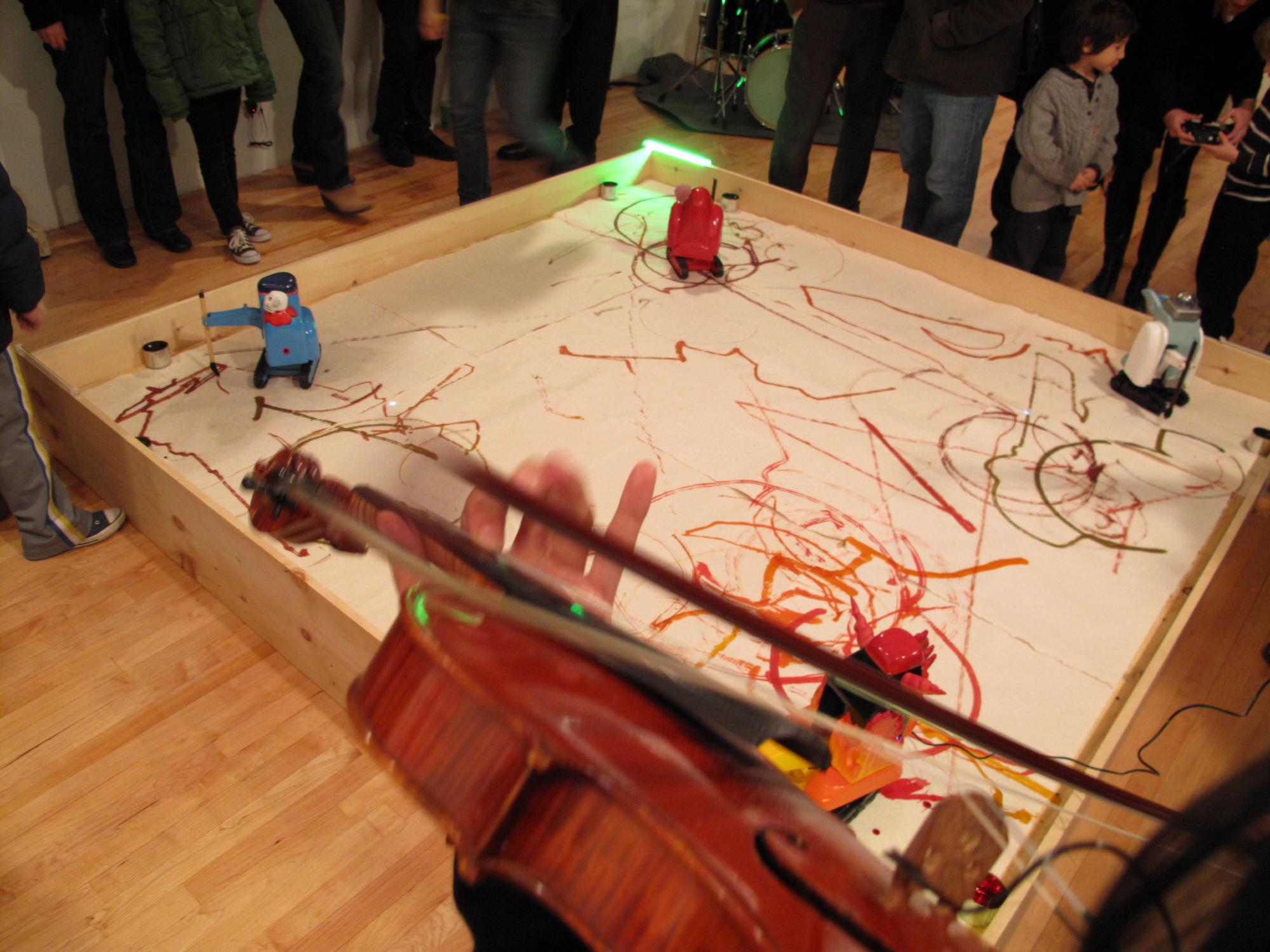 Robo-Improvization Arena (with Käthe Wenzel) – Alma on Dobbin (2009)
