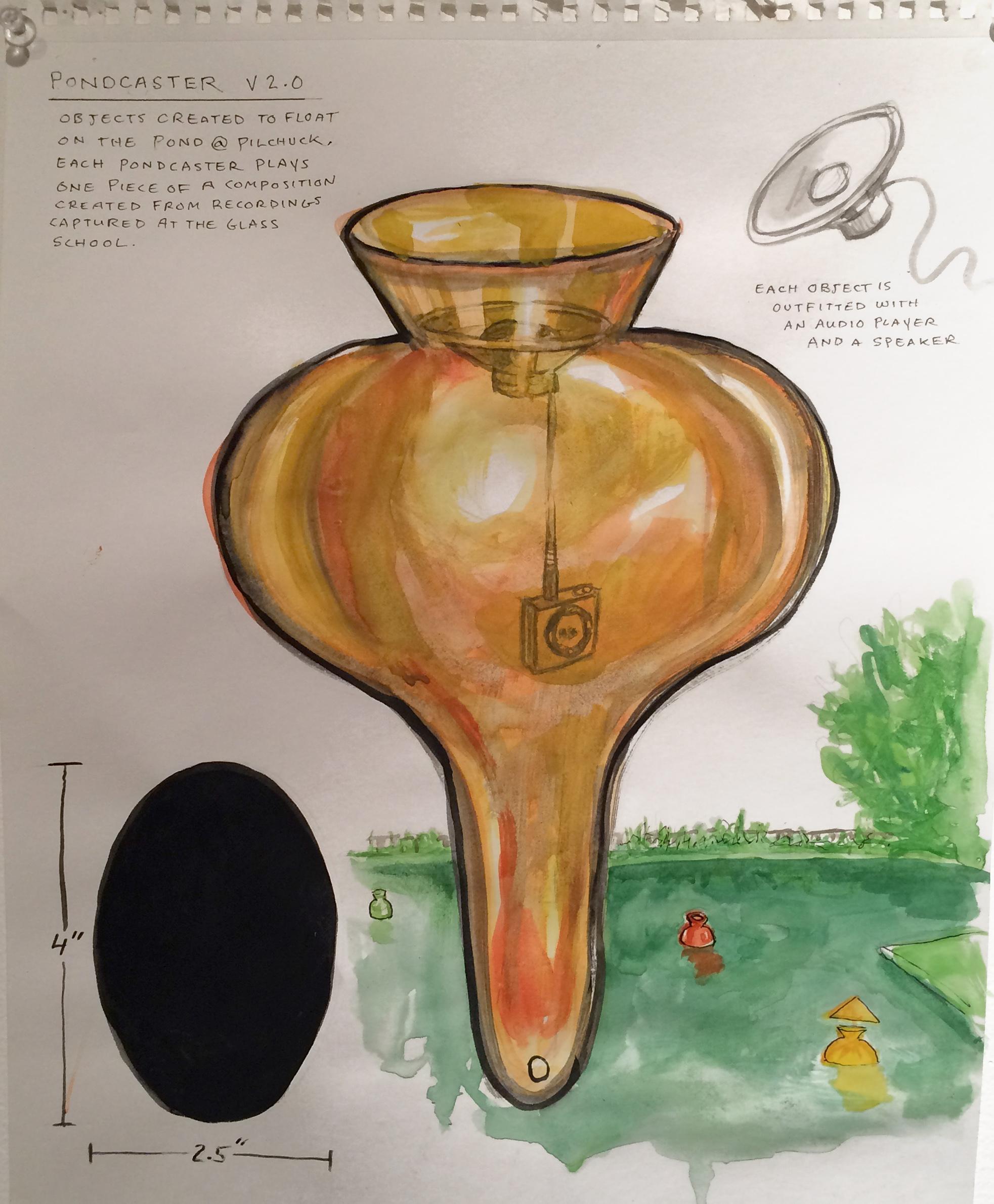 Pondcaster Yellow Sketch