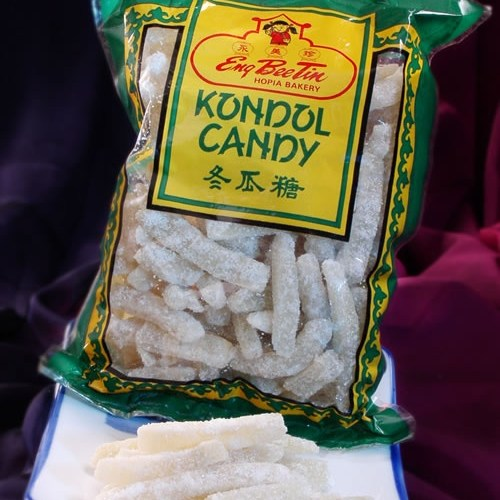 White Gourd Candy. Sweet, But With An Unusual Texture And Hard To Place Flavor.
