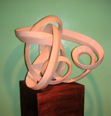 """Natural poplar 38""""W x 29""""H x 20""""D Commission for Janice and Daniel Wallace Los Angeles, CA"""