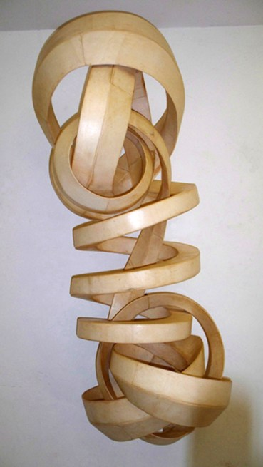 """Natural poplar wood 22""""W x 62""""H x 20""""D Commission for Rebecca Andrews Lake Tahoe, NV"""