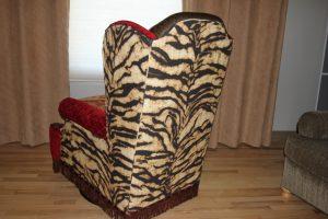 custom chair back