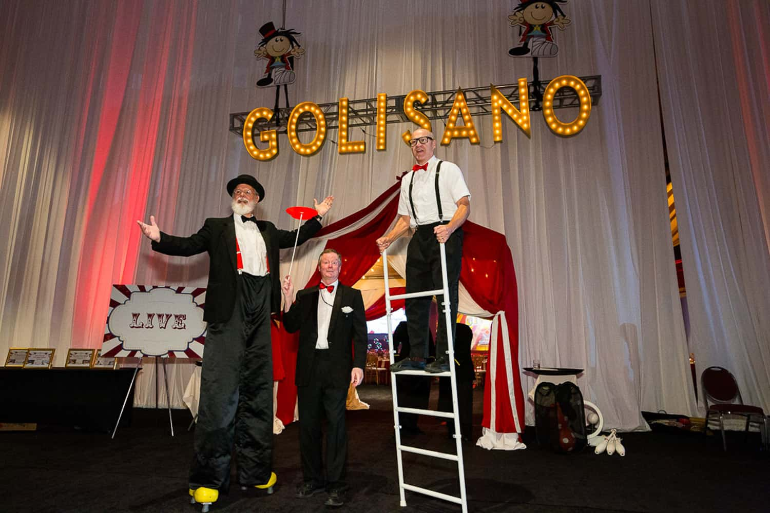 Event Photographer for performers at Golisano Children's Hospital Gala.