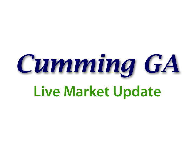 Cumming Market update