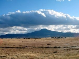 View of Cerro Pedernal, New Mexico