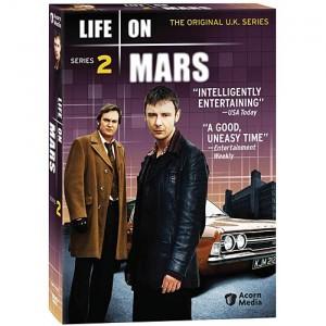 UK Life On Mars Series 2 DVD cover art