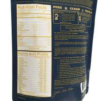 Grass Fed Native Whey Protein – Nutrition Panel