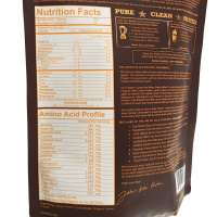 Organic Cacao and Grass Fed Whey – Nutrition Panel