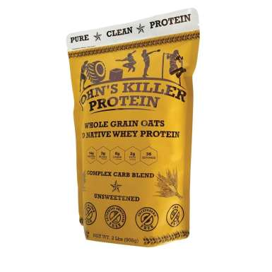 Organic protein oatmeal. Unsweetened and unflavored high protein oats.