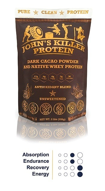 Organic chocolate protein blend