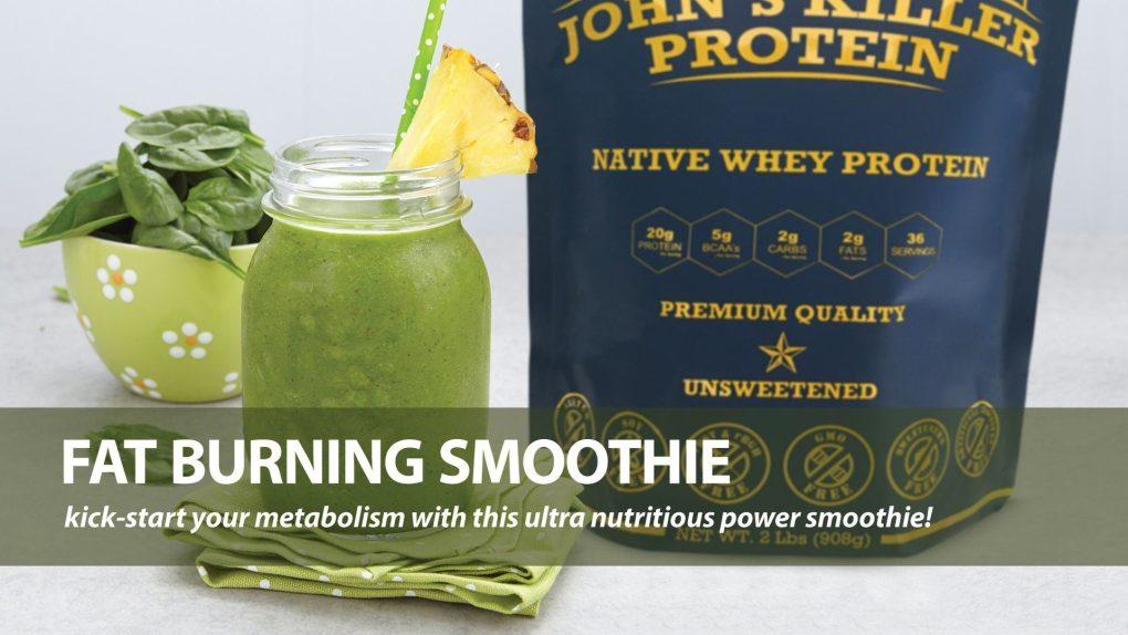 fat burning metabolism smoothie