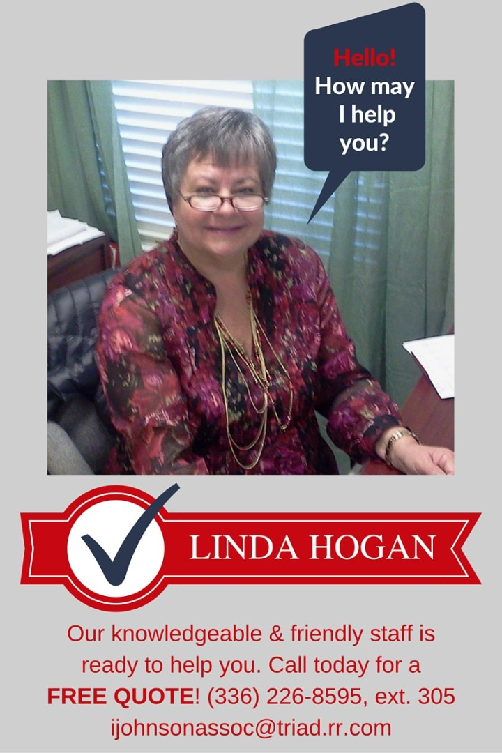 Call Linda for a free quote!