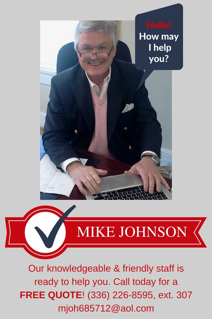 Call Mike for a free quote!