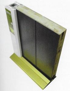 Cross Section of a Solidor Composite Door