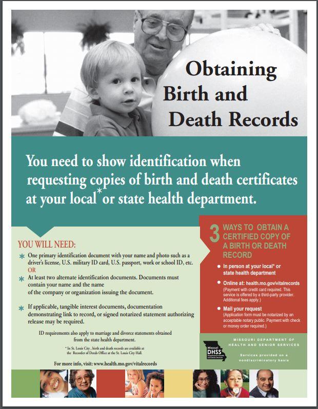 Obtain Vital Records
