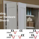 Bi Folding Door Hardware Johnsonhardware Com Sliding Folding Pocket Door Hardware