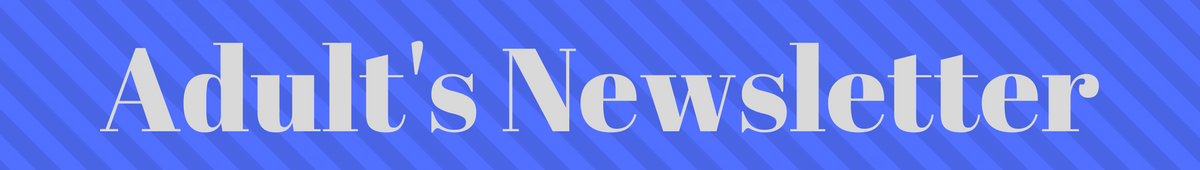 adults newsletter header