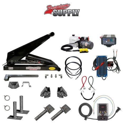 8 Ton Hydraulic Scissor Hoist Kit | PH516 Premium Kit