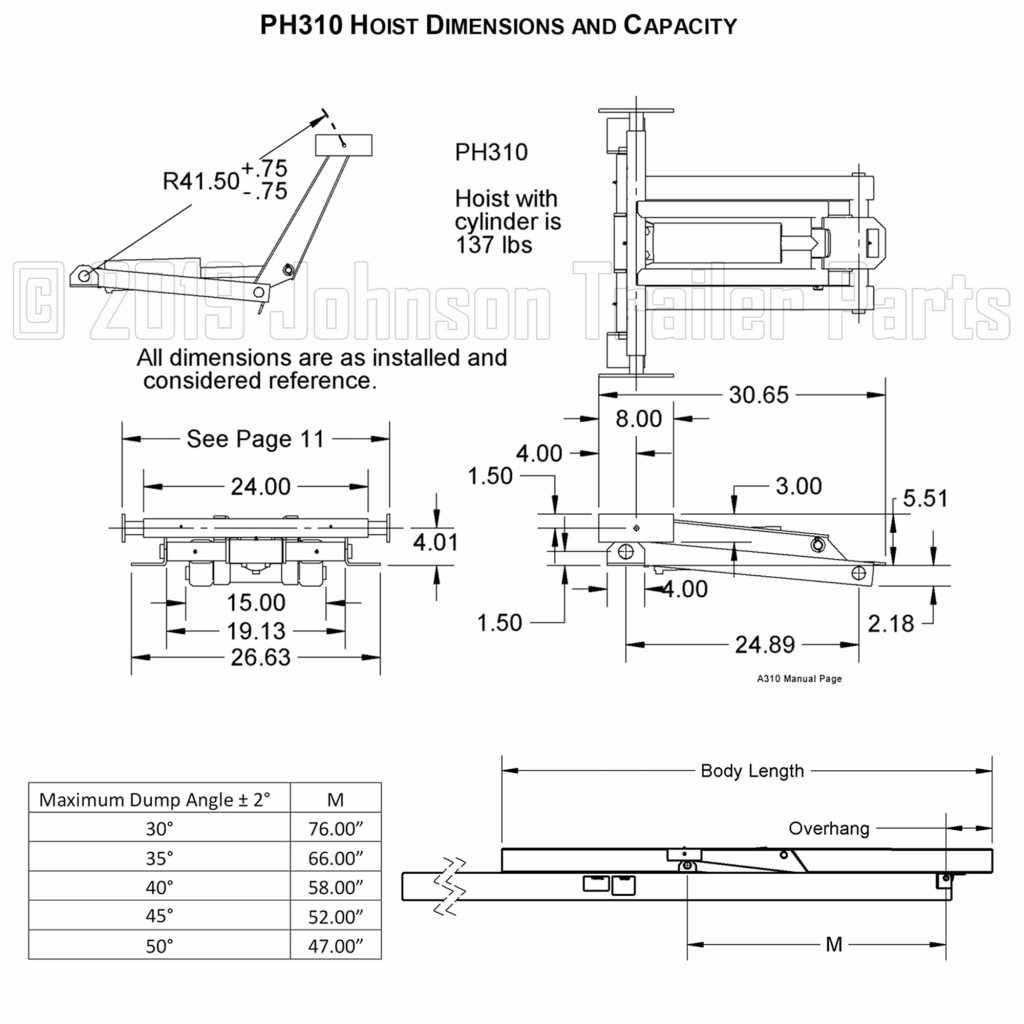 4 ton hydraulic scissor hoist