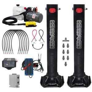 Dual Hydraulic Trailer Jack Deluxe Kit
