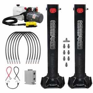 Dual Hydraulic Trailer Jack Standard Kit