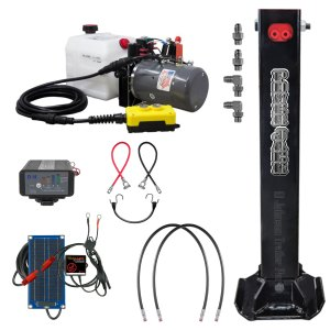 Single Hydraulic Trailer Jack Deluxe Kit