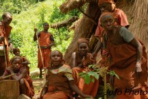 Batwa Pygmy Tribe in Bwindi National Park