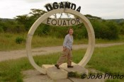 Mary straddling the Equator!