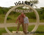 Mary & Mark at the Equator