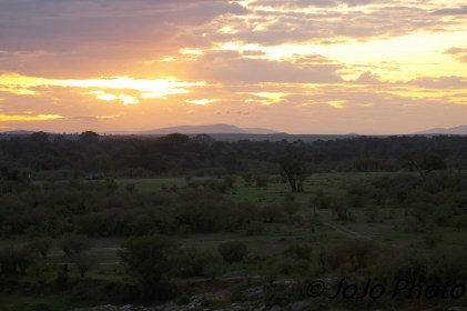 Sunrise during Hot Air Balloon Ride - Serengeti