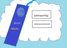 Store bookmarks usernames password online