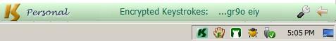 KeyScrambler in action