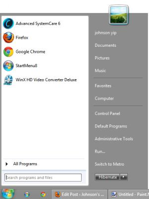StartMenu8 for Windows 8