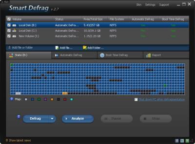 Iobit Smart Defrag 2.7
