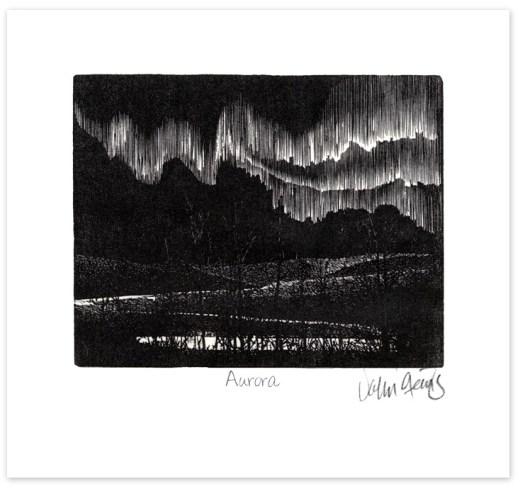 Aurora Wood Engraving ~ John Steins
