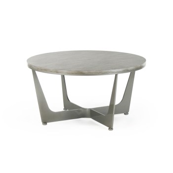 Connor Cocktail Table, Wood Top
