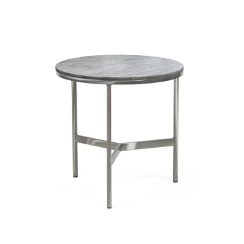 James End Table, Wood Top