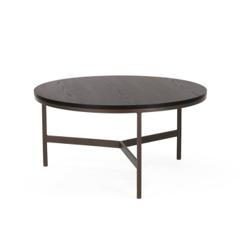James Cocktail Table, Wood Top